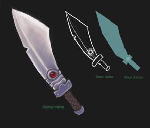 Sword Concept 2 by JohnnySix