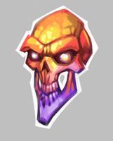 color skull by blazan