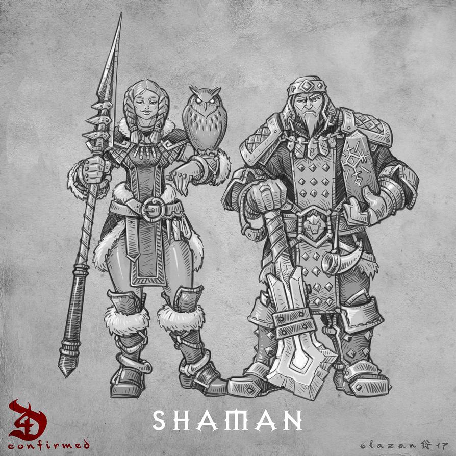 Diablo 4 Shaman by blazan