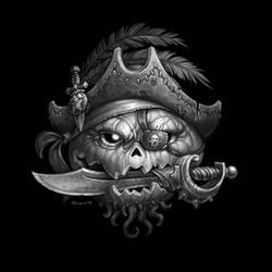 Halloween Jolly Roger by blazan