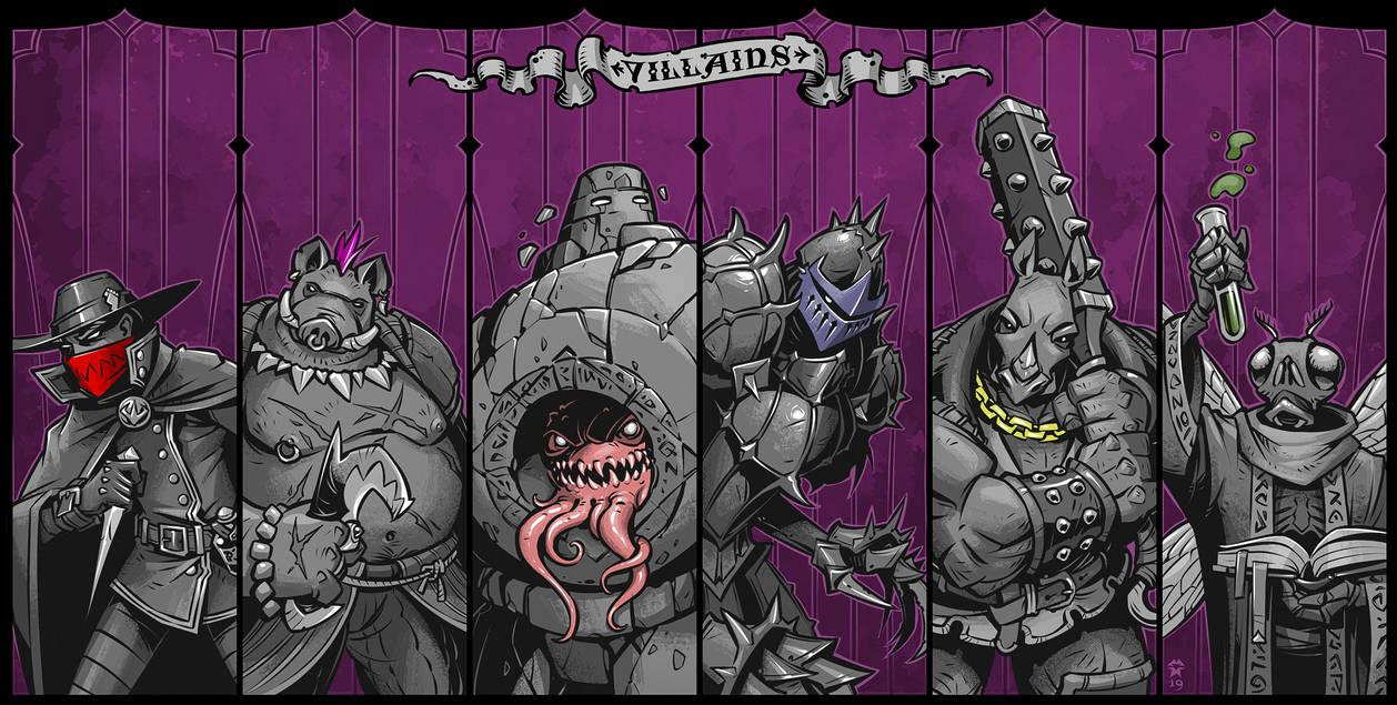 Villains by blazan