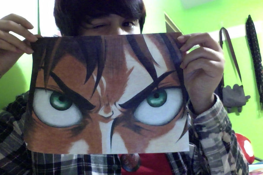 Eren's Eyes Copy :D by URESHI-SAN