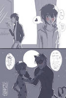 Love with mask vs love without masks by URESHI-SAN