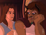 Beauty And The Beast Genderbent Scene 1