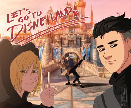 Let's go to Disneyland!