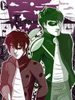 My Ladybug and Chat Noir~ by URESHI-SAN