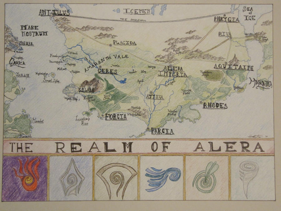The Realm of Alera by myyrdneopia