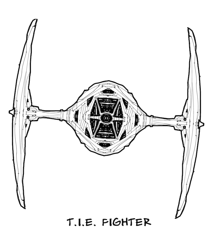 Tie fighter tilt Sm1 by scamble