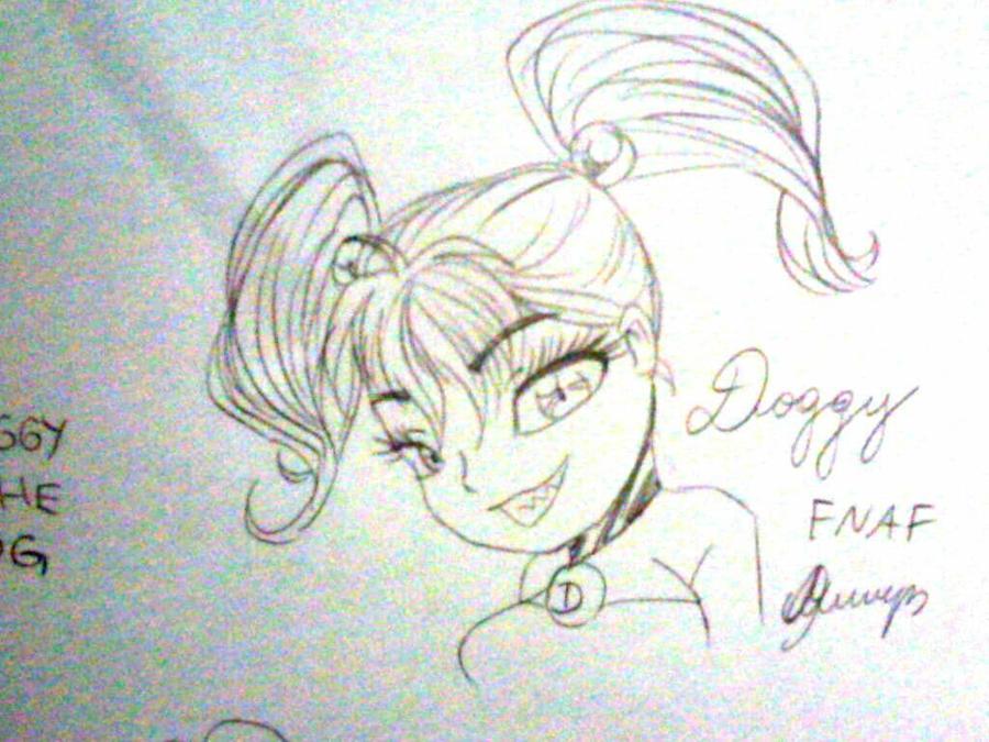 FNAF_Doggy_Dog_Drawing_by_TVMiluna by TVMiluna
