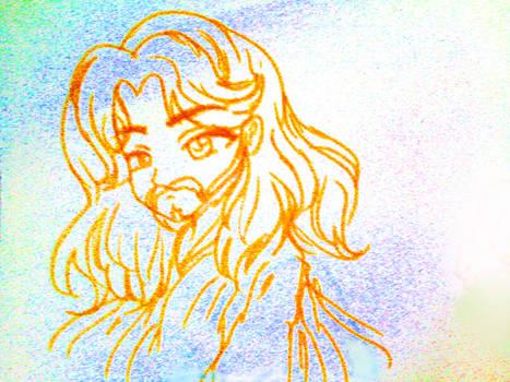 Jesus_Drawing_Step_by_TVMiluna