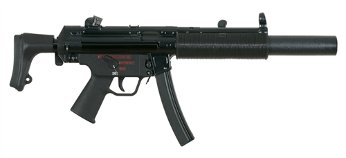 Heckler and Koch MP5SD: Silenced Sub-machine gun