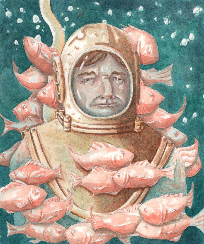 Deep Sea Diver by heycalebmorris