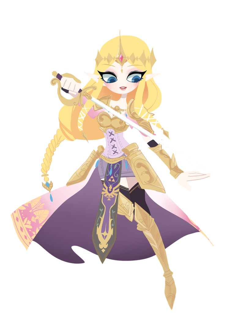 princess Zelda by kapimelon