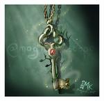 For fun: Fantasy clutter (Elven key)