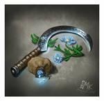 Patreon: November clutters (Druid sickle)