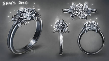 Design: Shai's ring by MagicalKaleidoscope