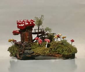 Fairy House #13 by Gluckspilze