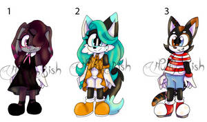 Child Sonic Adopts $5 OPEN 2/3 by MyLittleArtWorld
