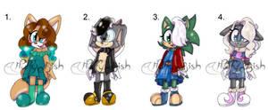 Sonic Child OTA One left! by MyLittleArtWorld