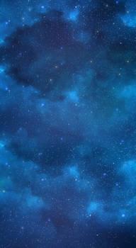 Starry night sky BG