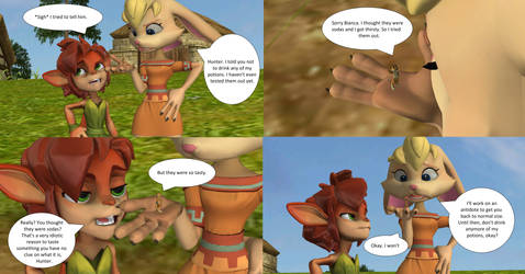 Hunter's Little Mistake