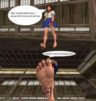 A Teacher Underfoot