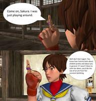 Sakura's Finger Teacher