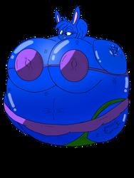 (AT) Berry blue Bunnie