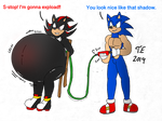 (AT) Sonic inflates Shadow