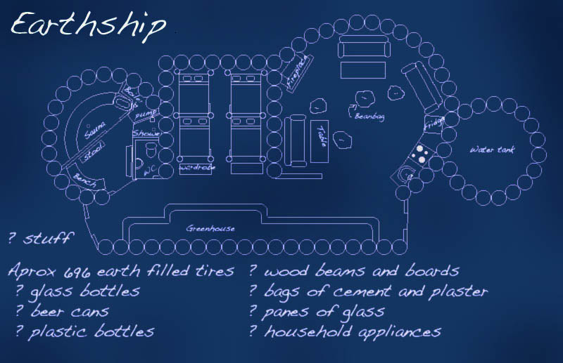 how to build an earthship for free