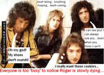 Roger's dieing