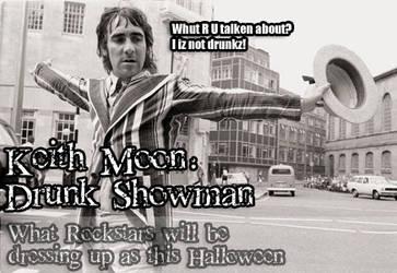 Halloween: Keith Moon by mamacros