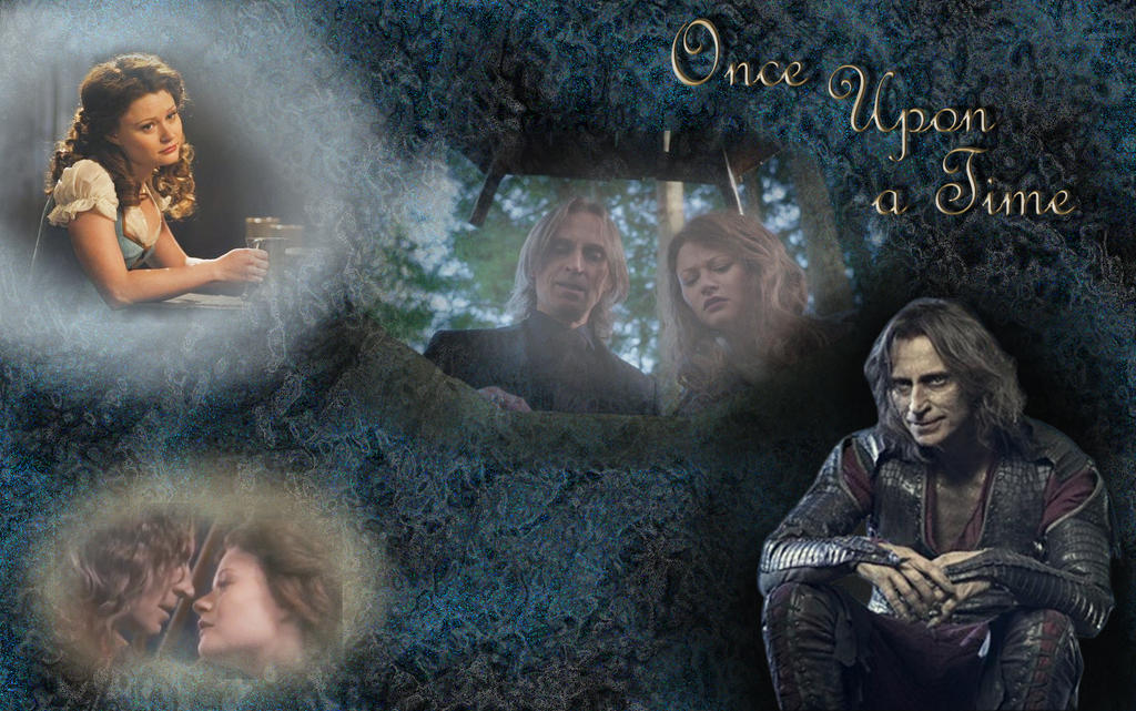 Beauty and the Beast wallpaper once upon a time by mirabelle25 on
