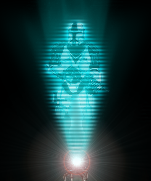 Star Wars Hologram by gamma097 on DeviantArt