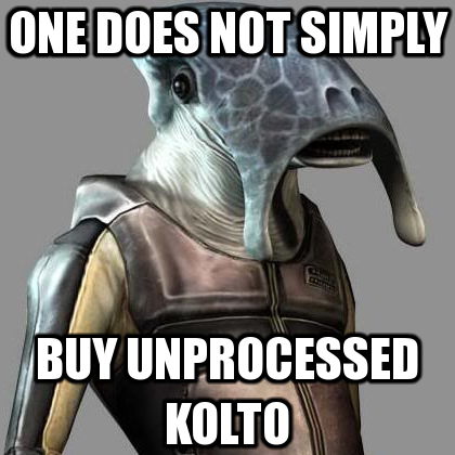 KoTOR 'One does not simply' meme by gamma097
