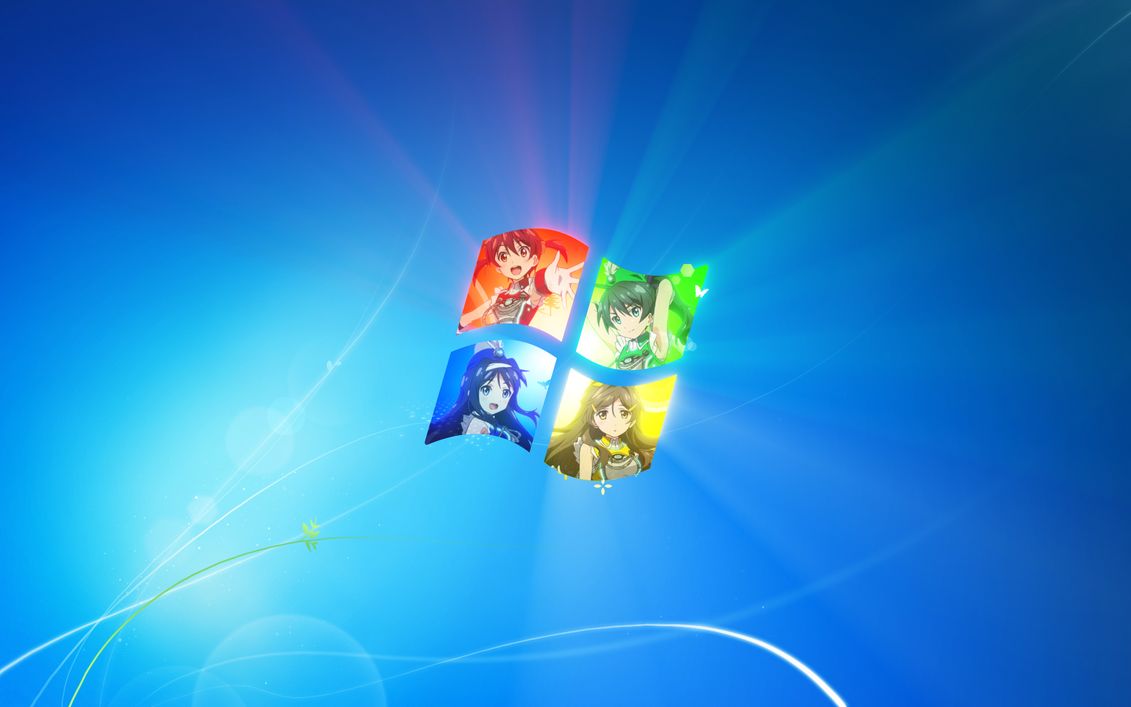 Vividred Operation Windows 7 Wallpaper 1920x1200 By Gamma097