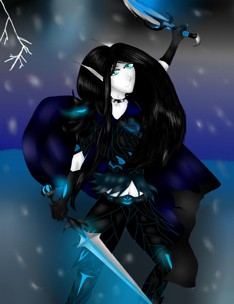 Frost Death Knight World of Warcraft by Linanae1 on DeviantArt