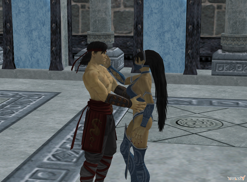 Mortal kombat kitana and liu kang love - photo#3