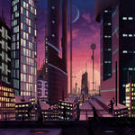 Retro City by MalcressArt