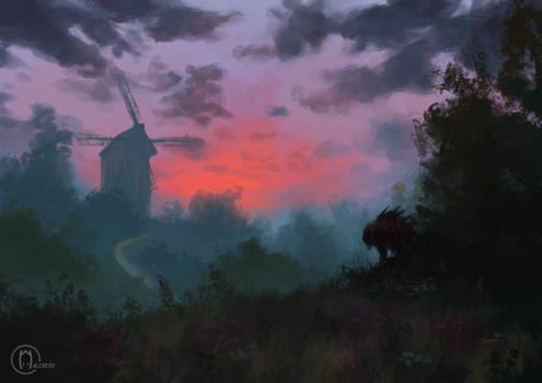 Sunrise In Velen