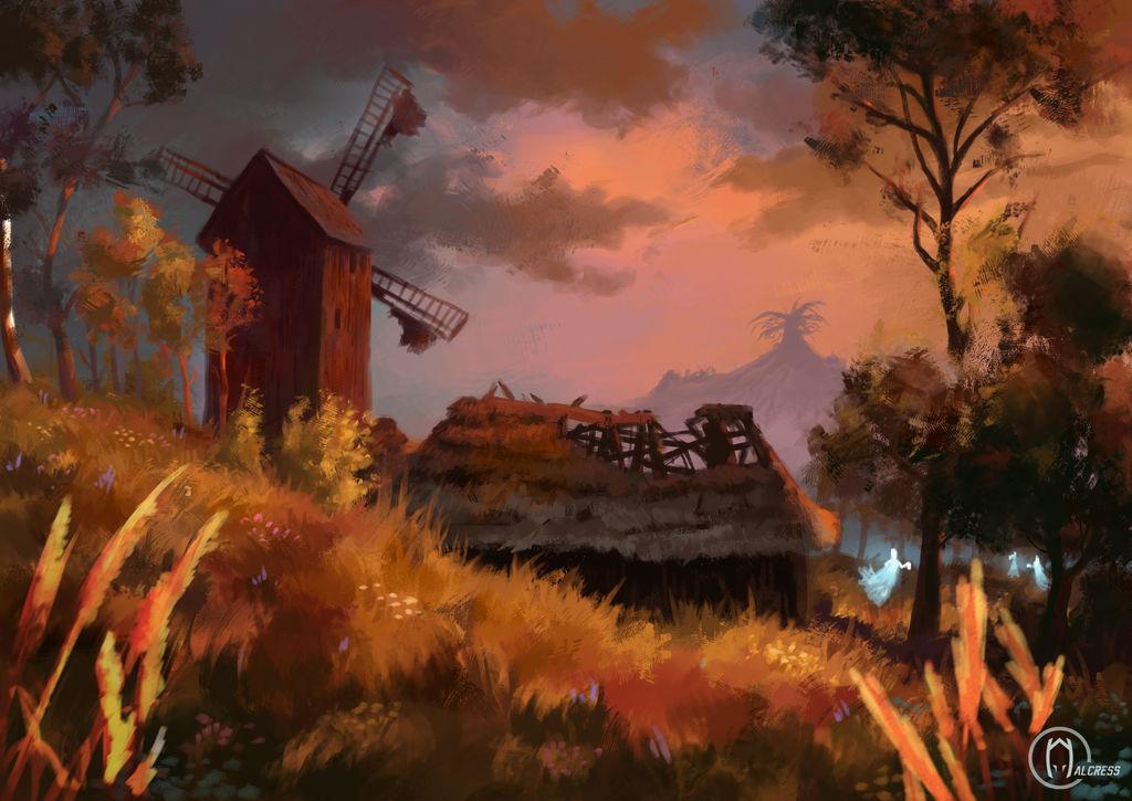 Sunset In Velen