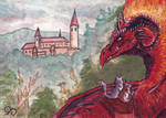 ACEO: Dragarta by MalcressArt