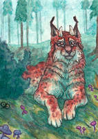 ACEO: Cora For LynxFang