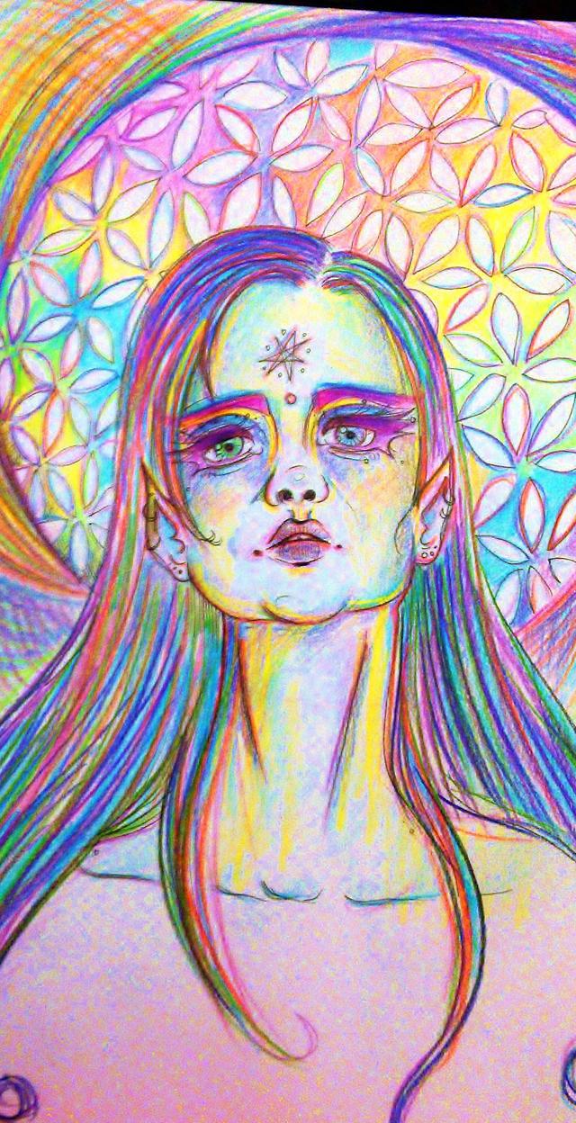 celestial faerie elf by lafora