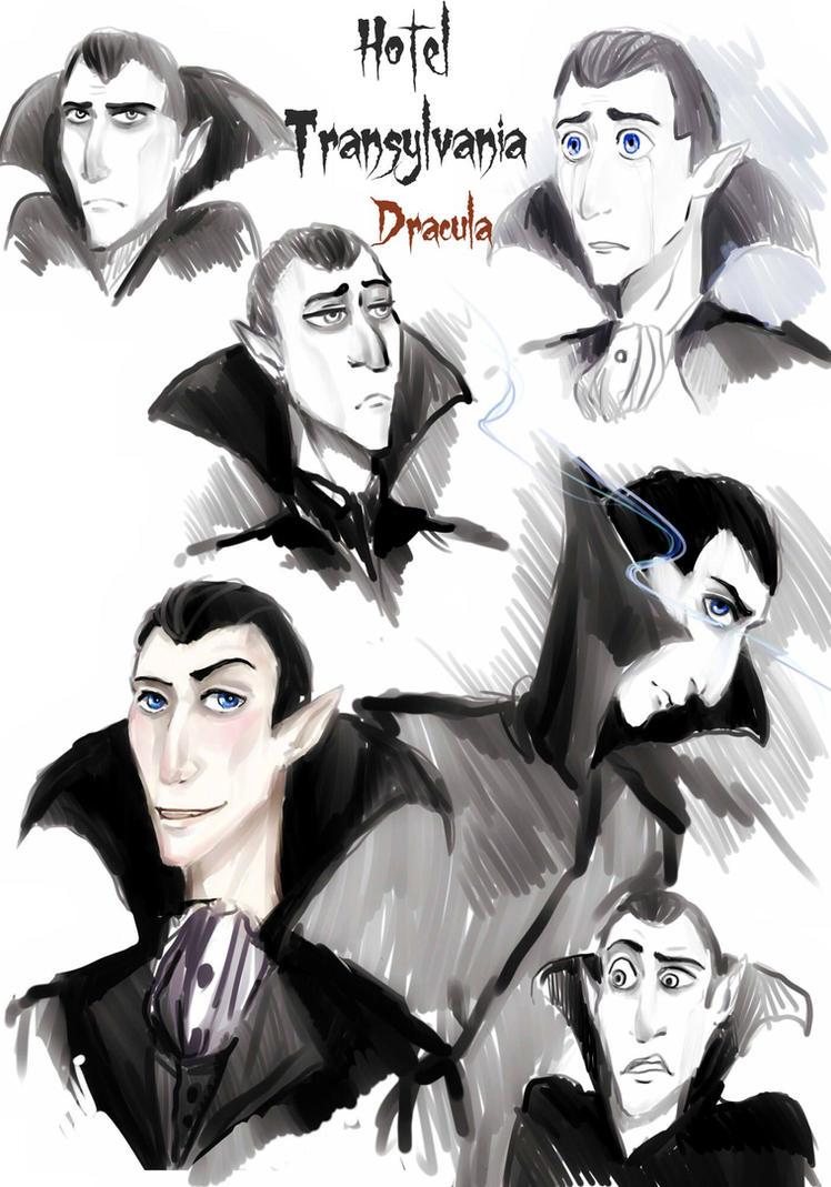 Hotel Transylvania: Dracula by Anree-Bekker