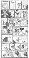 My lame humor: Jin-Xiao comic