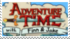 Stamp :: Adventure Time by homestucktroll123