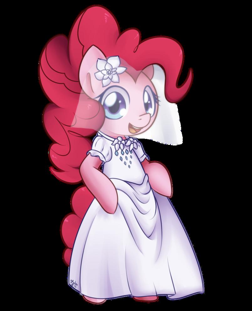 Pinkie Pie - Wedding Dress by Bukoya-Star