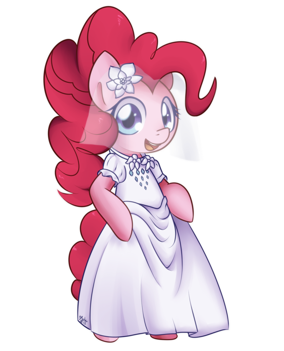 Pinkie Pie - Wedding Dress by Bukoya-Star
