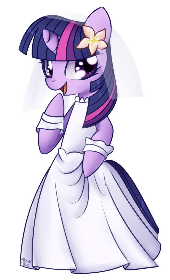 Twilight Sparkle - Wedding Dress by Bukoya-Star